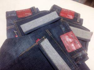 0808 1 300x225 - ズボン裾上げ事例:EDWIN(エドウィン)のジーンズ