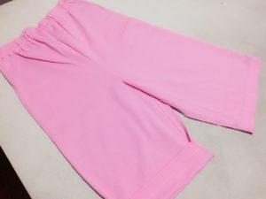 IMG 2305 1 300x225 - ズボン裾上げ事例:ミキハウスのパジャマパンツ